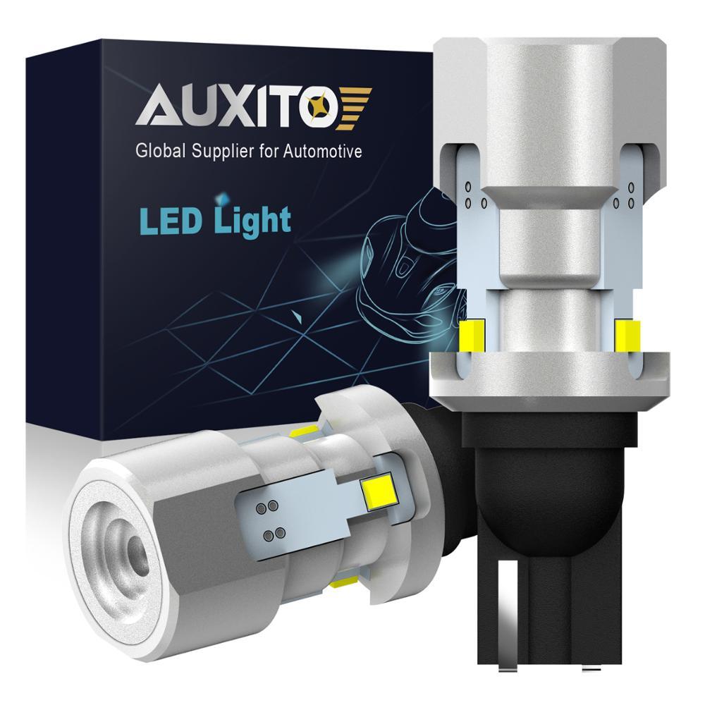 2 шт. T15 W16W светодиодный Canbus 921 912 Клин обратный светильник лампочка 1500lm высокое Мощность супер яркий без ошибок автомобиля наружные лампы 6500K ...