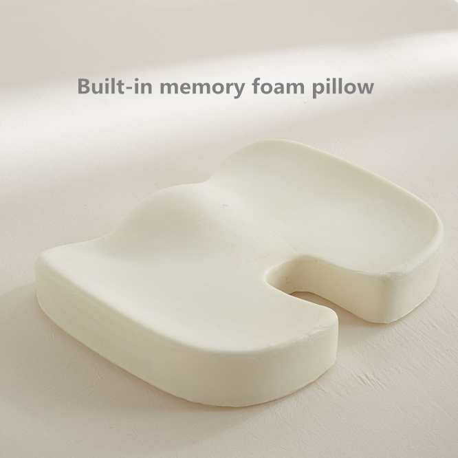 50pcs Slow Rebound U-Shape Memory Foam Chair Car Seat Hips Pillow Tailbone Coccyx Protect Cushion Student Office Chair Gift