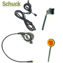 Ebike Right Hand FT-21X Finger Thumb Throttle SM Waterproof Ebike Electric Bicycle Parts WUXING Brand Free Shipping free shipping ebike pas system pedal assistant sensor 8 magnets diy cycling conversion kit parts electric bicycle speed sensor