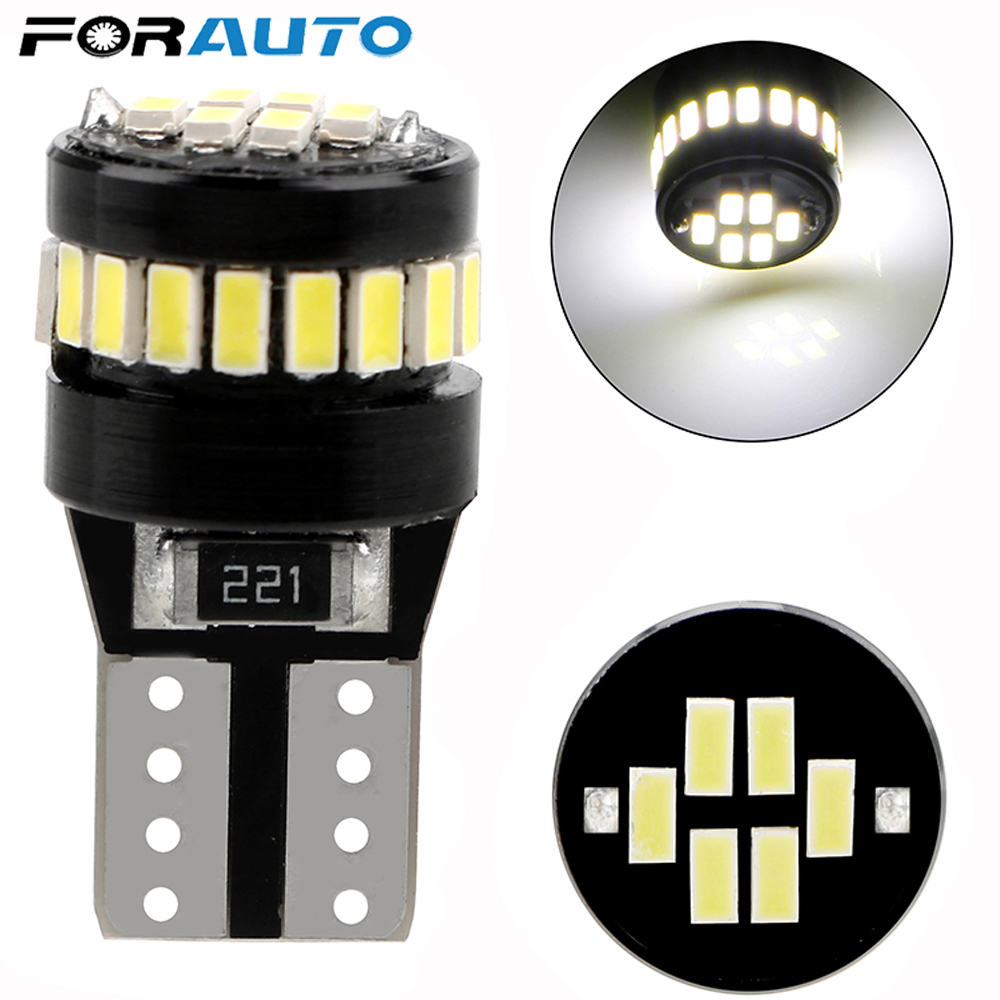 Canbus W5W T10 LED 168 194 Clearance Parking Lights For Mercedes Benz W211 W221 W220 W163 W164 W203 C E SLK GLK CLS M GL