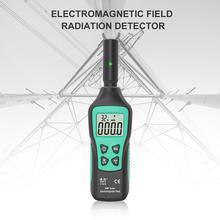 FUYI FY876 Detector de radiación electromagnética, medidor EMF portátil, Monitor de radiación de ondas de alta precisión para el hogar
