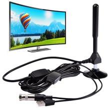 Antenne numérique intérieure amplifiée HDTV 4K, portée de 1180 Miles avec HD1080P freevew, pour la vie, chaînes locales Broadca