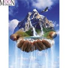 Алмазная мозаика «сделай сам» с изображением Иисуса Святой воды
