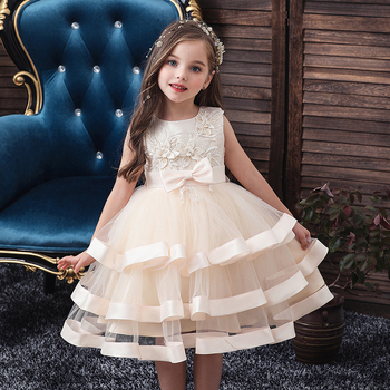 Girls Princess Kids Dresses for Girls Tutu Ball Gown Baby Girls Clothes Children Wedding Birthday Party Dress Vestido Wear Dress baby girl dress pink flower sleeveless ball gown princess wedding dresses girls baptism 1 year vestido infantil 6m 4y