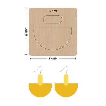 SMVAUON Scrapbook Die Cut nieregularna figura DIY handmade nowe matryce do 2020 drewniane matryce szablon formy do wykrawania drewna Die tanie i dobre opinie Nieregularne Rysunek Leather Tools