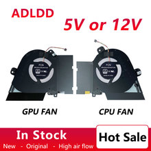 New laptop cpu gpu cooling fan cooler for ASUS ROG ROG Zephyrus M15 GU502GV/GU/GW GU502LWS/LV/LW 13NR02X0T01011 13NR02X0T02011