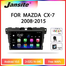 JMCQ – autoradio Android 10, lecteur multimédia vidéo, écran partagé, 2 din, avec fenêtre flottante, pour voiture MAZDA cx7, cx 7 (2008 – 2015)