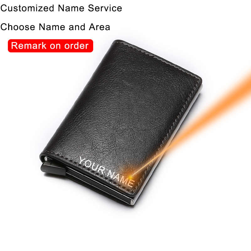 GENUINE LEATHER WALLET CARD HOLDER COIN POCKET SLIM PURSE MEN COOL THIN TRIFOLD