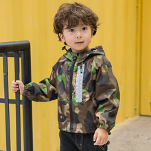 Casual Toddler Kid Baby Boy Camouflage Jacket 2019 New Zipper Hooded for Child Coat Top Kids Windbreaker