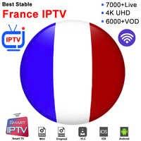 Suscripción de Francia iptv m3u abonnement iptv Portugal caja de España Alemania Italia Android ip tv Box Android caja de TV inteligente Samsung m3u