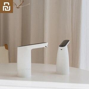 Image 1 - Youpin 3 חיים אוטומטי USB מיני מגע מתג מים משאבת אלחוטי נטענת חשמלי מתקן מים משאבת עם כבל USB