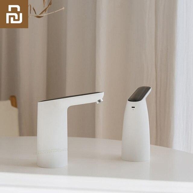 Youpin 3 חיים אוטומטי USB מיני מגע מתג מים משאבת אלחוטי נטענת חשמלי מתקן מים משאבת עם כבל USB
