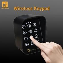 433 МГц плавающий код два канала открывания ворот клавиатура, беспроводная сенсорная цифровая клавиатура для домашней безопасности Водонепроницаемая клавиатура