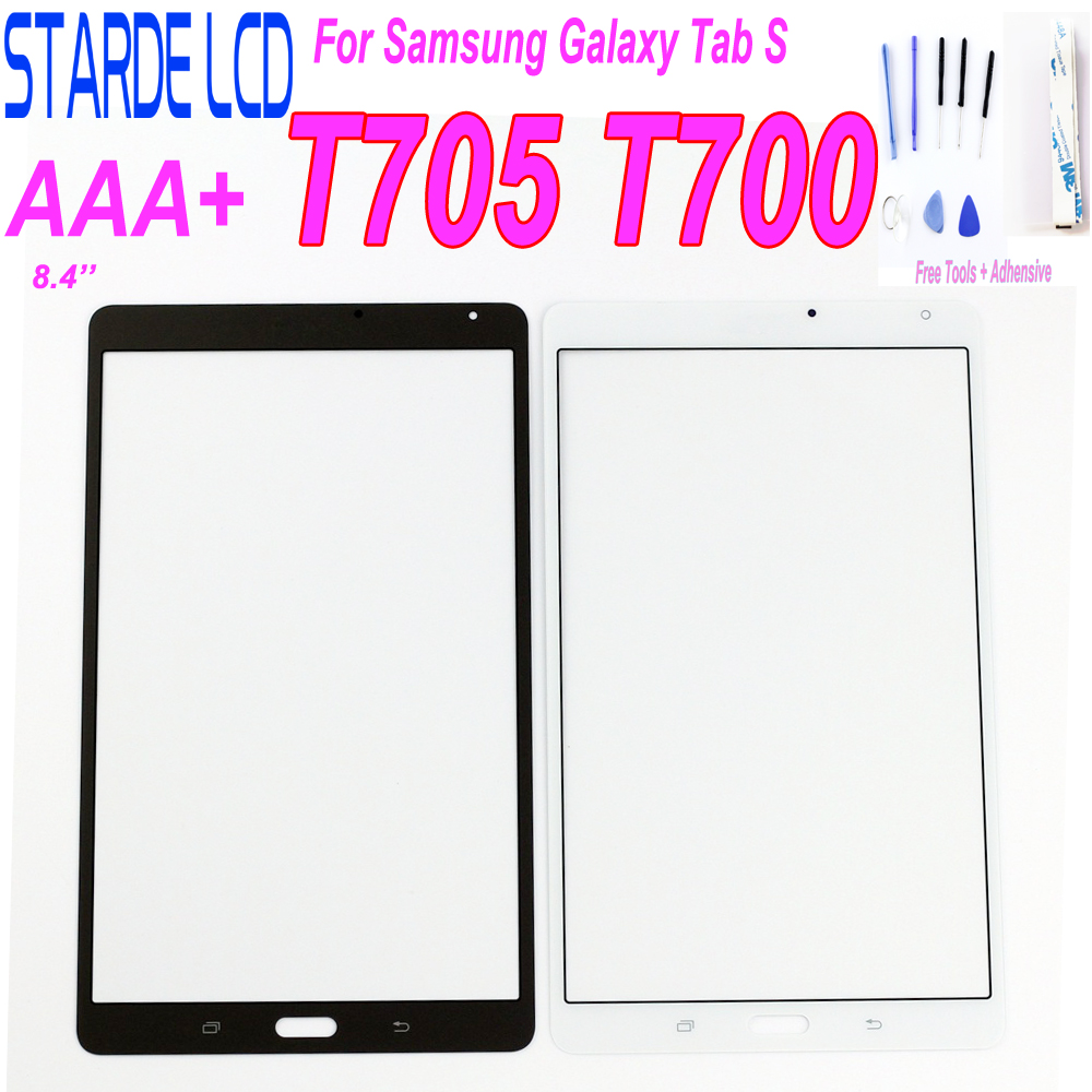 New Replacement Front Touch Screen Panel For Samsung Tab S 8.4 SM-T700 T705 T705C SM-T705 Digitizer Touch Screen Parts