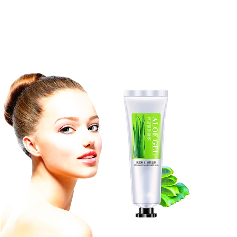 Fresh Cool Moisturizers Creams Aloe Water Lock Hyaluronic Acid Face Creams Lifting Firming Skin Care Cells Regeneration Essence