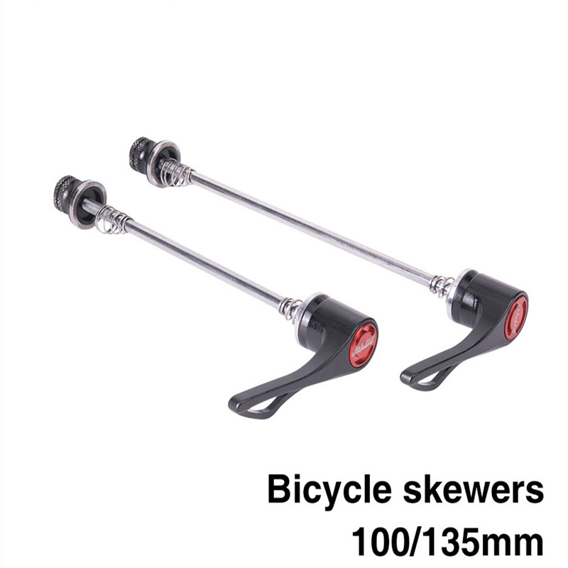 Bicycle Parts MTB Road Bike Bicycle Black Red High Quality   Screw Skewers Quick Release Skewer Outdoor Bicycle Parts