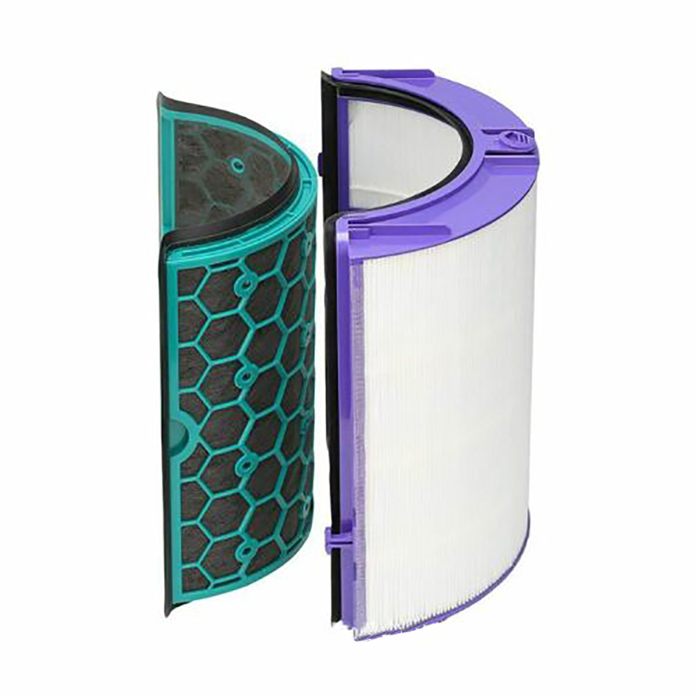 Image 3 - 4PCS/Set Durable Easy Install Reusable Activated Carbon Air Purifier Cleaning Home Filter Set For Dyson TP04 TP05 HP04 HP05 DP04-in Air Purifier Parts from Home Appliances