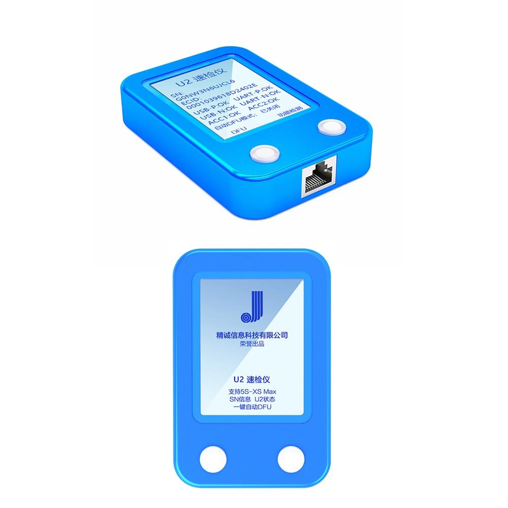 Купить с кэшбэком JC-U2 Tristar Tester Quickly Reads SN Code to Detect Fault iPhone XS Max/xs/xr/8plus/8/7plus/6plus/6s/6plus/6/5s One-button DFU