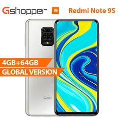 Global Version Xiaomi Redmi Note 9S 4GB 64GB smartphone Snapdragon 720G Octa core 5020 mAh 48MP Quad Camera Note 9 S