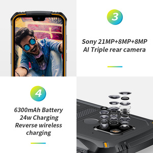 "Image 4 - Rugged Mobile Phone Doogee S68 Pro Helio P70 Octa core 6GB 128GB Wireless Charge 5.84"" IPS Display 6300mAh 12V/2A Smartphone"