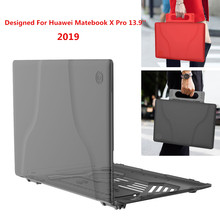 все цены на For Huawei Matebook X Pro 2019 Case Slim Hand-held Notebook Case For New Huawei Matebook X Pro 13.9 Inch Laptop Cover онлайн