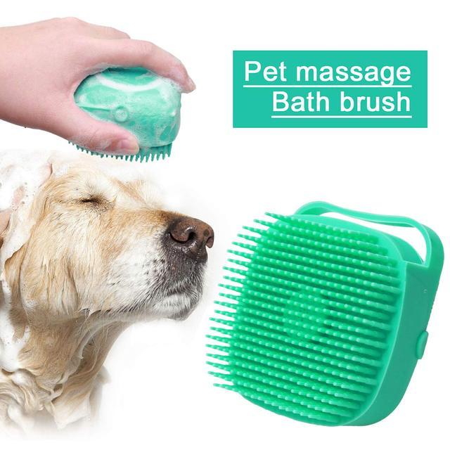 Dog Shampoo Massager Brush  3