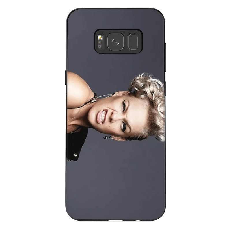 Etui na telefon do Samsung A20E A70S A2 rdzeń J4 J6 Plus Prime J8 J7 Duo okładka P! nk słodkie
