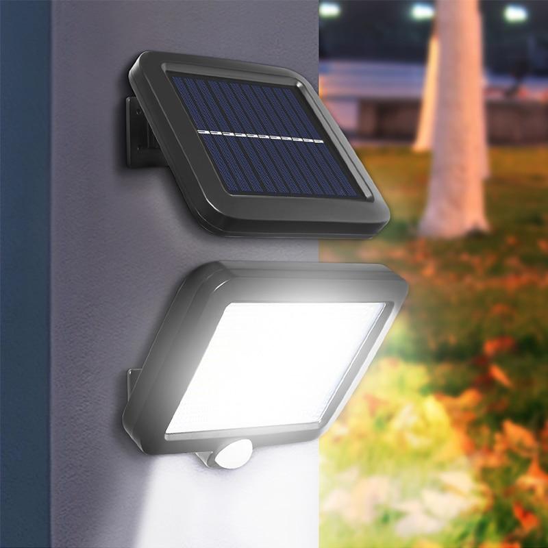 cheapest Waterproof 56 30 LED Outdoor Solar Power Lamp Motion Sensor Light Garden Security Lamp Intelligent Light-dependent Control Lamps