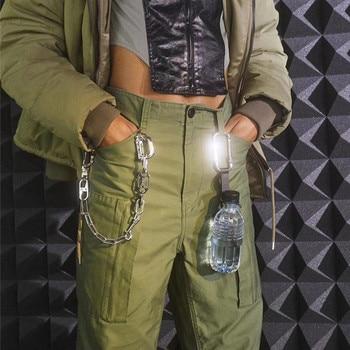 AMBUSH Jogger Pleated Flight Pants Women Men Casual Black ArmyGreen AMBUSH CARGO PANTS Trousers