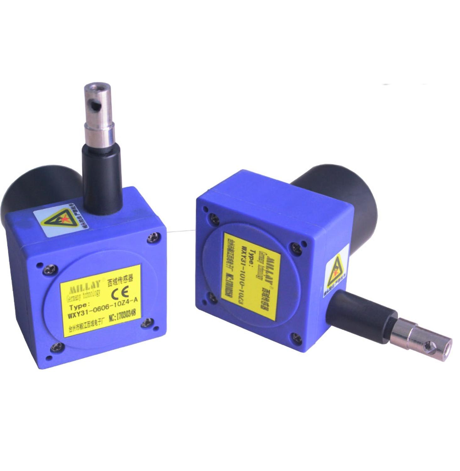 WXY31-1010 WXY80-L Gate Opening Instrument 4-20MA Cable Pull Rope Displacement Sensor RS485 Communication