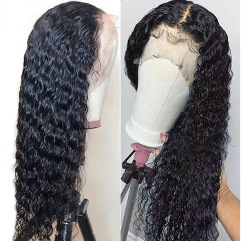 13x4 Curly Hair Lace Front Wig 8-24 Inch Glueless Lace Front Human Hair Wigs 150% Density Alimice Malaysian Remy Hair Wigs