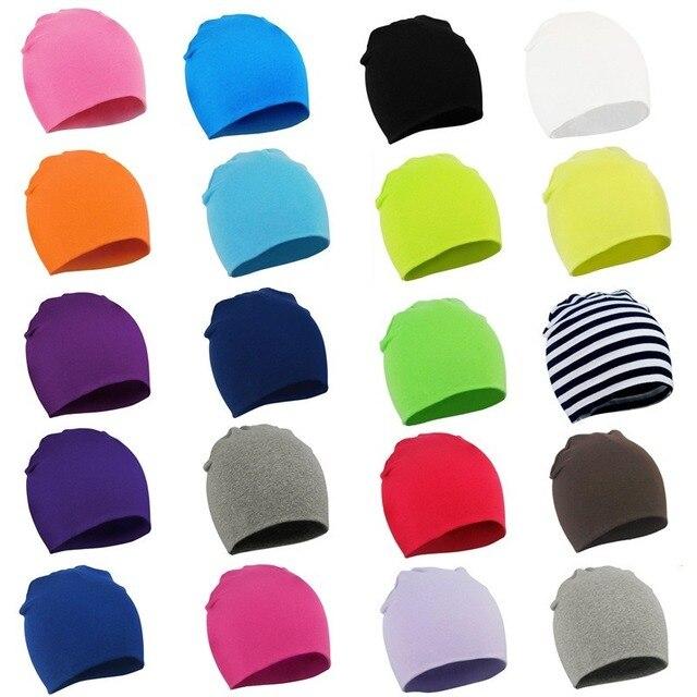 Multicolored Cotton Hat for Kids 1