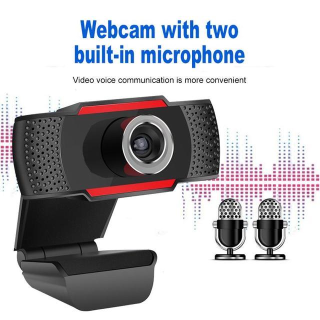USB Computer Webcam Full HD 1080P Webcam Camera Digital Web Cam With Micphone For Laptop Desktop PC Tablet Rotatable Camera 2