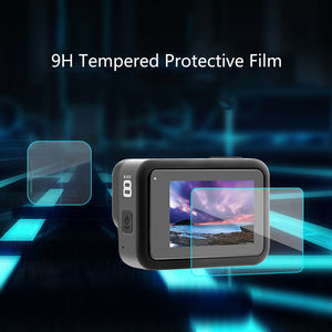 Image 2 - Tempered Glass Screen Protector for GoPro Hero 8 Black Lens Protection Protective Film for Gopro8 Go pro 8 Camera Accessories