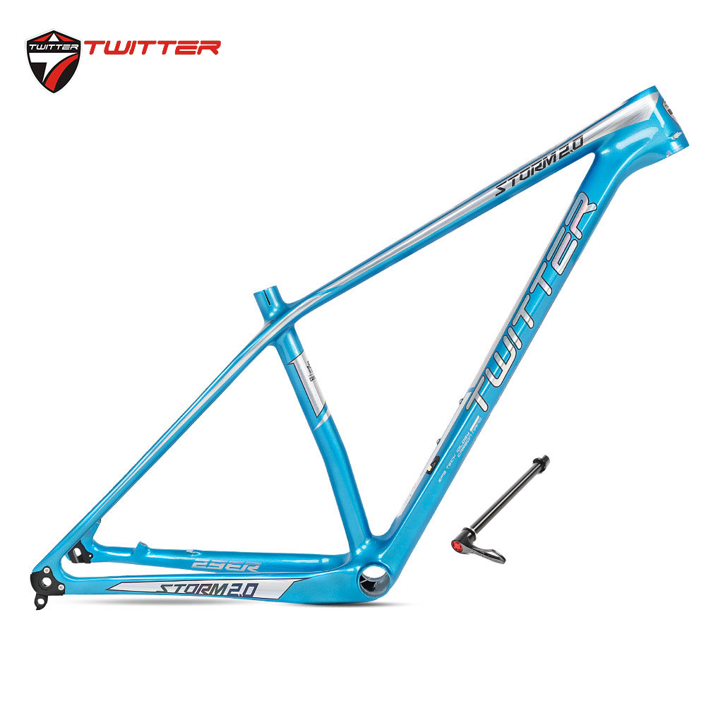 "29/'/'Mountain Bike MTB with Lightweight Carbon Fiber 18K Frame 29 x 15/"" STORM2.0"