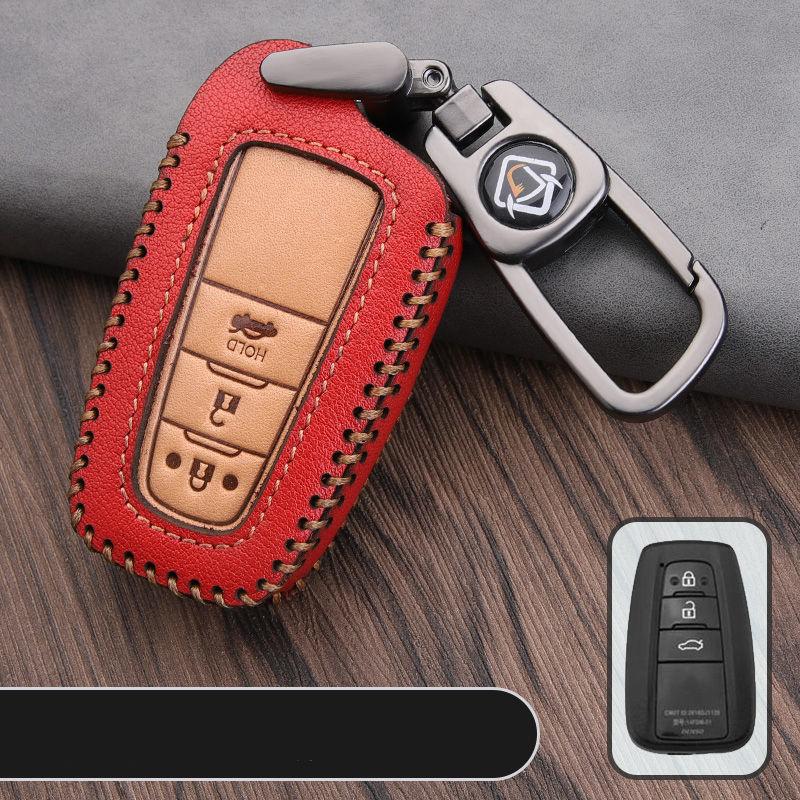 2020 Car Key Cover for Toyota Auris Corolla Avensis Verso Yaris Aygo Scion TC Camry C-HR CHR Prado Key Protection Ring