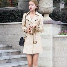 Women Trench Coat 2019 Autumn Fashion Casual Slim T