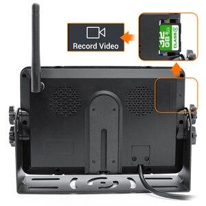 """Image 2 - GreenYi 1280X720 Cao Cấp AHD Không Dây Xe Tải Đầu Ghi Hình Màn Hình 7 """"Tầm Nhìn Ban Đêm Ngược Dự Phòng Đầu Ghi Camera Wifi dành Cho Xe Ô Tô"""