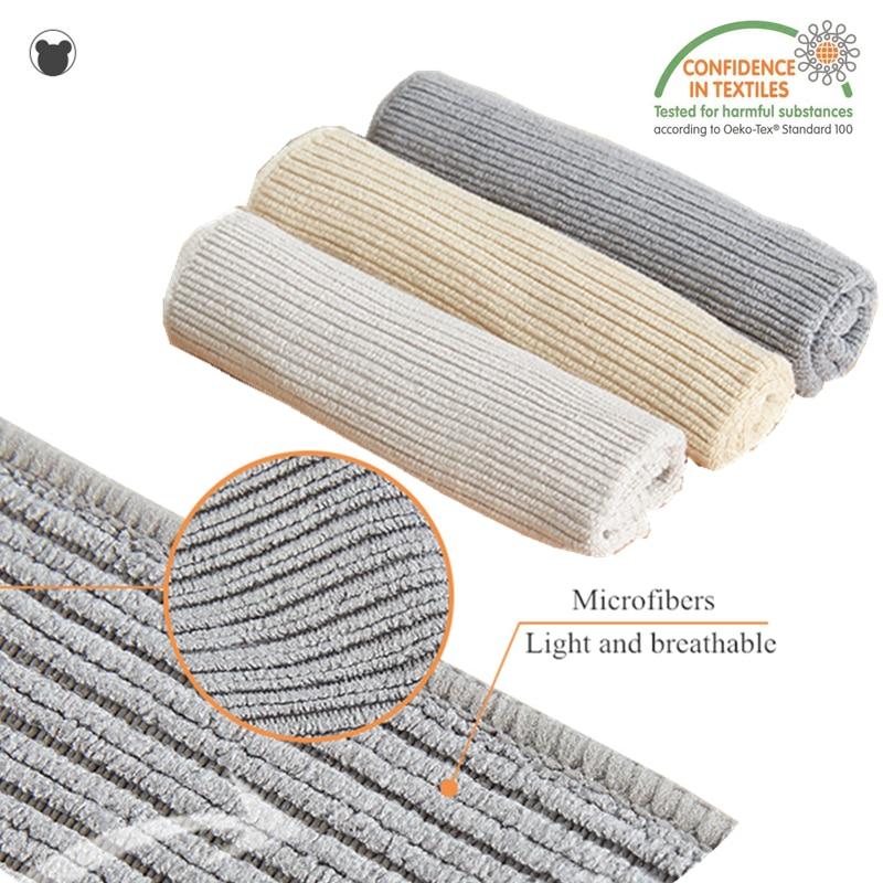 3PCS Starke reinigung tuch Mikrofaser küche reinigung Handtuch geschirr nicht-stick öl lappen haushalts bad sauber dish tuch