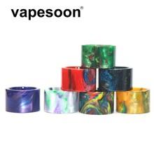 Nowy zdjęcie piękne drip tip z żywicy nadające się do SMOK TFV16 Atomizer zbiornik wysokiej jakości kolorowe kroplówki końcówki tanie tanio VapeSoon resin drip tip Żywica TFV8 BABY V2 tank