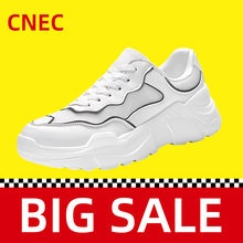 2020New White Sneakers Shoes for men male Couple Women Casua