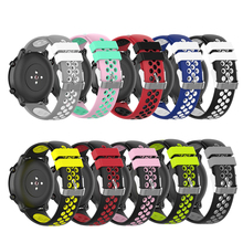Silicone Watch Band Strap For Samsung galaxy watch 46mm Sport Replacement Bracelet Watchband 22mm For Gear S3 Frontier/Classic new sports watch band silicone rubber strap watch band for samsung gear s3 classic bracelet watchband replacement high quality