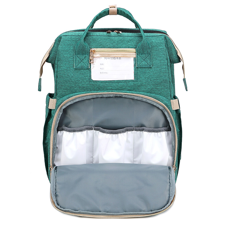 Multifunctional Large Capacity 2in1 Baby Diaper Bag Backpack Bags Travel Portable Crib Maternity Baby Bag For Mom Diaper Bag