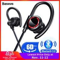 Baseus S17 Sport Auricolare Senza Fili Bluetooth 5.0 Auricolare Cuffia Per Xiaomi iPhone Telefono Dell'orecchio Germogli Vivavoce Auricolare Auricolari