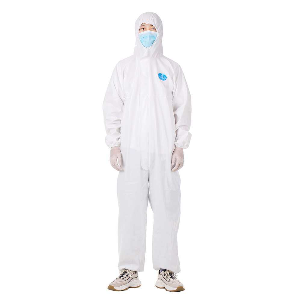 SECTEC Disposable Coverall Hazmat Suit Protection Protective Disposable Anti-Virus  Disposable Factory Hospital Safety Clothing