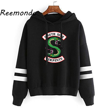 Riverdale Southside Serpents Hoodies Sweatshirts MenS Women South Side Serpents Hoodie Long Sleeve Striped Pullover Top Oversize 1