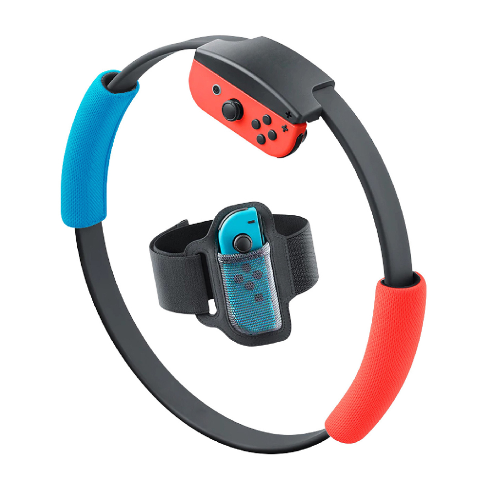 Adjustable Elastic Leg Strap Non-slip Controller Cloth Cover Ring Grips For Nintend Switch Joy-Con Gaming Accessories