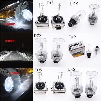 2PCS HID Bulb Xenon Headlight Bulb Car Flashing Light For Headlamp Light Kit Bulb D1S D2S D3S D4S D1R D2R D3R D4R 6000K 4300K upgrade auto car headlight 3 0 inch hid bi xenon for hella 3r g5 5 projector lens replace headlamp retrofit d1s d2s d3s d4s
