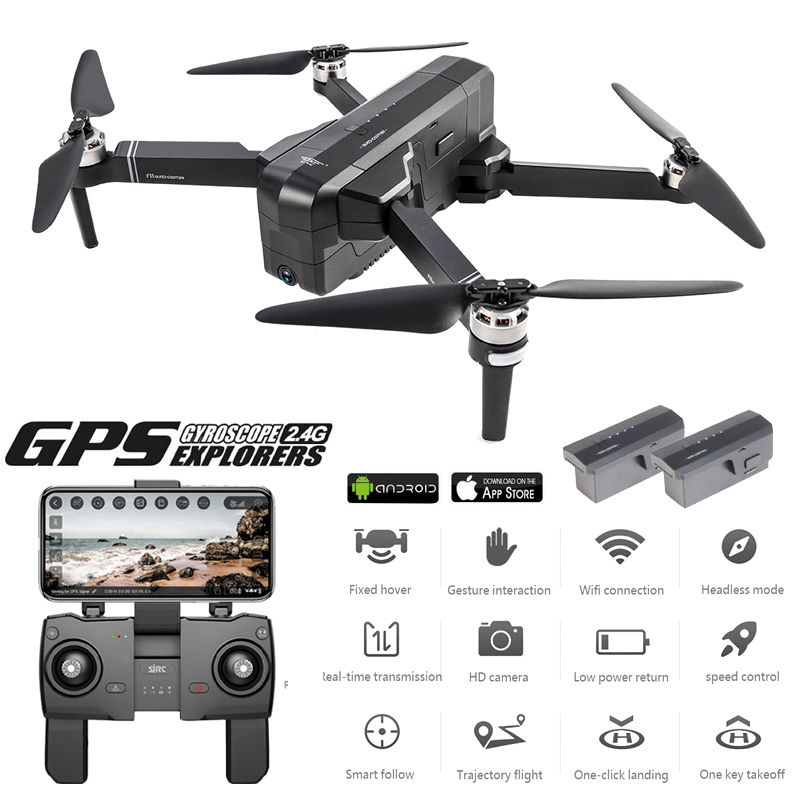 Global Drone 2K Brushless Dron With Camera 2K HD Follow Me Quadcopter Professional GPS Drones VS FIMI X8 SE E520S F11 PRO