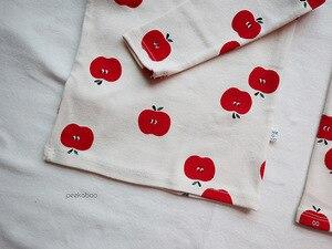Image 4 - Bebê infantil conjunto de pijamas do bebê casa serviço pacote impressão roupa interior do bebê com chapéu recém nascido roupas da menina do bebê